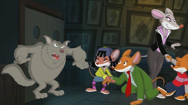 ג'רונימו סטילטון – ג'רונימו נגד עכבר-זאב